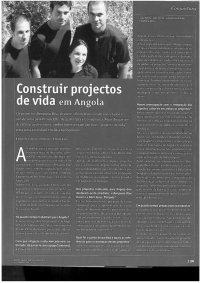 """""""Construir projectos de vida em Angola"""": Entrevista – João Ferros"""